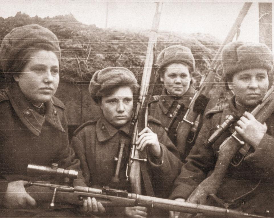 Женские лица войны